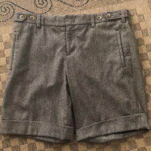 Vince wool blend bermuda shorts pants 10